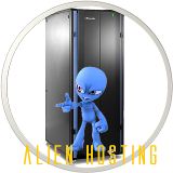 Alien Hosting logo